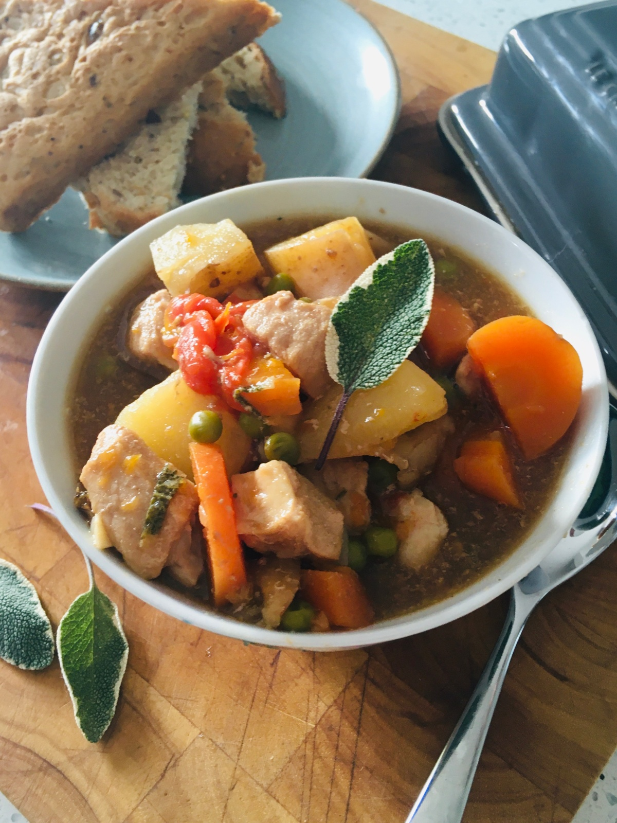 Autumnal Pork & Vegetable Stew