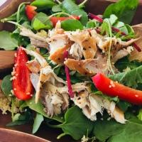 Mackerel & Cous Cous Super Food Salad - Let's Get Summer Started