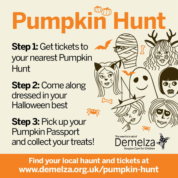 Demelza *Halloween Competition Time* Win 7Tickets